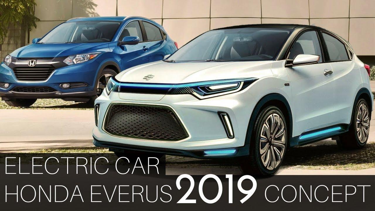 honda everus ev  concept  tiny electric vehicle  beijing auto show youtube