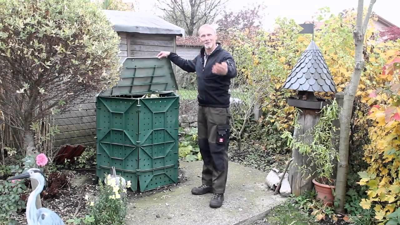 komposter - darauf müssen sie achten! - youtube