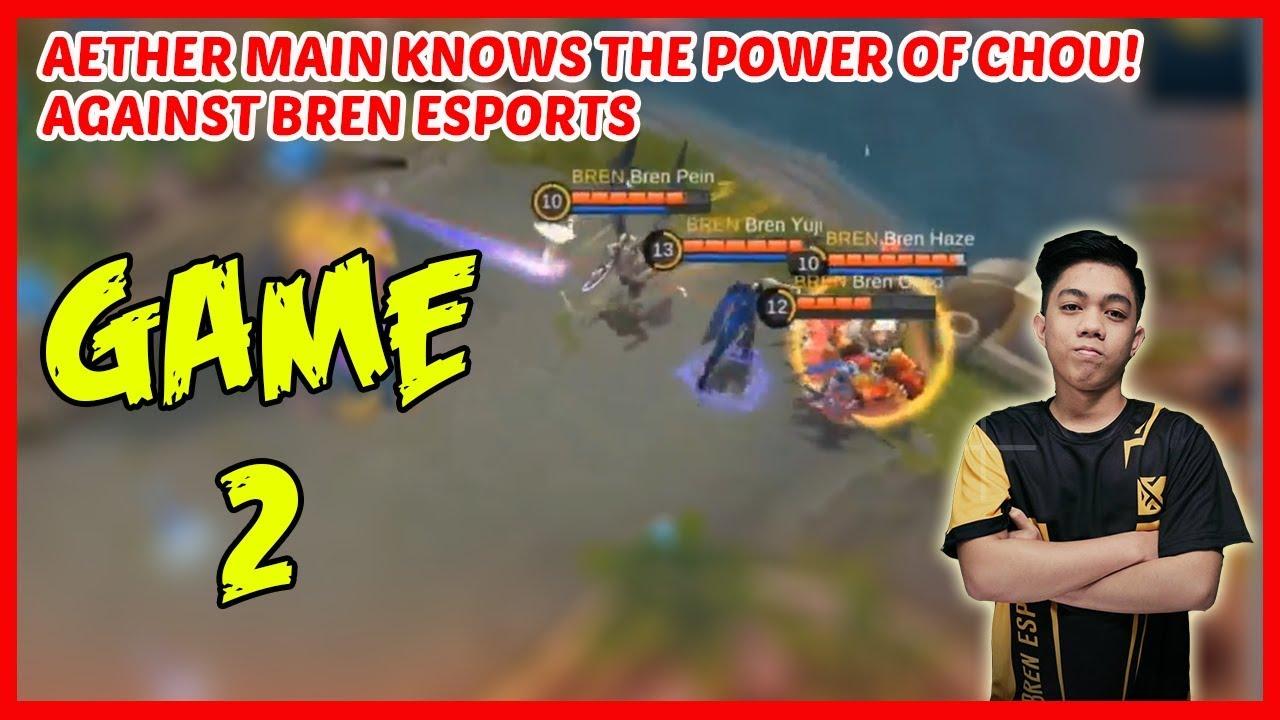 No Chou for Haze Now! Bren Esports vs Aether Main | Game2 - MPL PH Season2 Week2 Day2