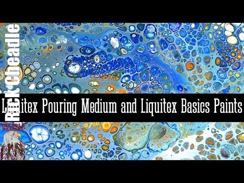 how to use liquitex pouring medium