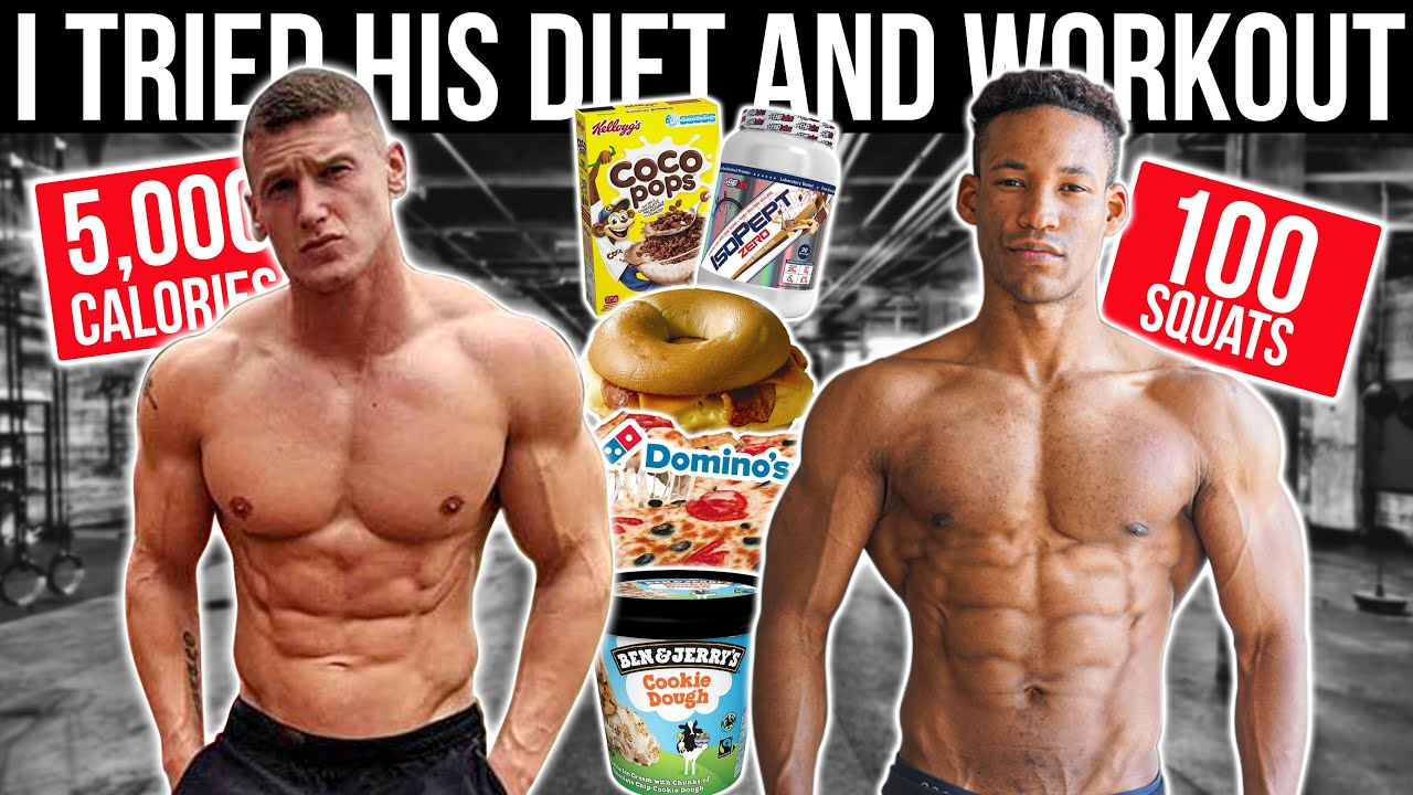 MATTDOESFITNESS | I TRIED HIS DIET & WORKOUT FOR A DAY