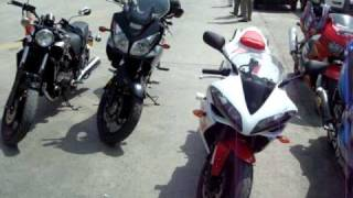 BIKES RALLY ON MOTORWAY PAKISTAN.MPG