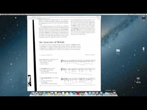 Conjunct Disjunct Melody Supplement