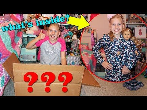 Huge Clothing Haul + American Girl Doll Tenney