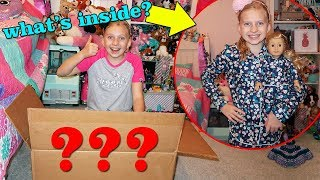 Huge Clothing Haul + American Girl Doll Tenney