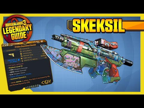 BORDERLANDS 3 | SKEKSIL | Legendary Weapons Guide