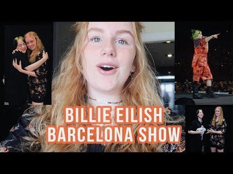 Touring With Billie Eilish | SHOW 9 Barcelona Spain