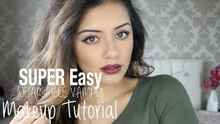 Tutorial   QUICK + EASY Wearable Vampy Makeup   Kaushal Beauty Thumbnail