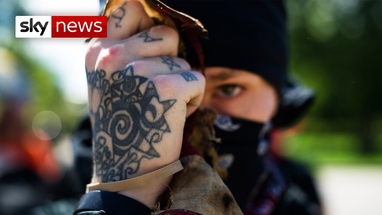 Antifa: Fighting the hard-right in the USA