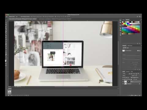 How To Create a Scrolling Website Animation In Photoshop
