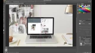 كيفية إنشاء الموقع التمرير الرسوم المتحركة في الفوتوشوب