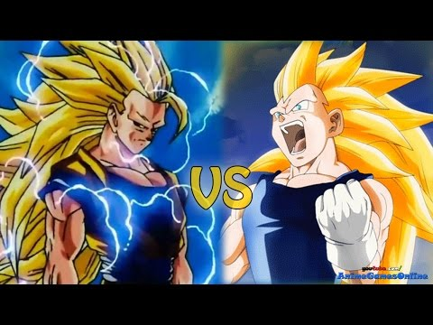 Fused evil goku vs super saiyan 5 vegeta dragon ball ex - Goku vs vegeta super saiyan 5 ...