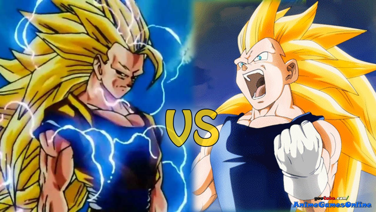 goku super saiyan 10 vs vegeta super saiyan 10