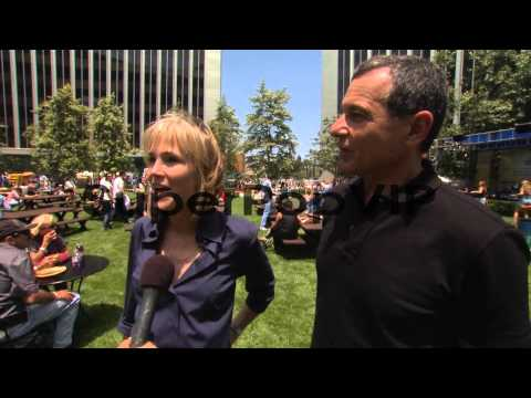 Robert A. Iger, Willow Bay on the event at El...