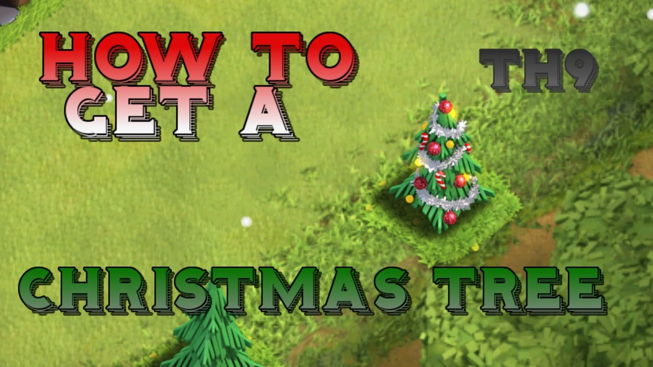 Clash Of Clans | TOWN HALL 9 CHRISTMAS TREE SPAWN BASE ...