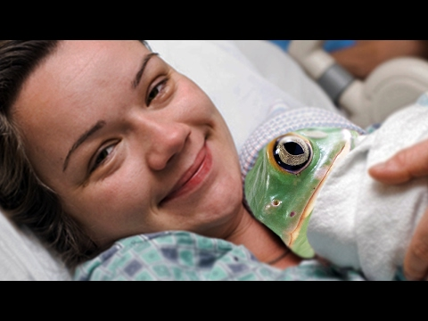 Woman Gives Birth To A Frog