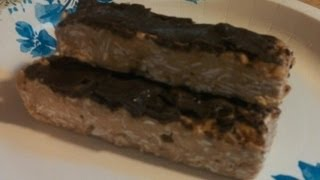 Peanut Butter And Chocolate Protein Bars - Under 200 Calories!