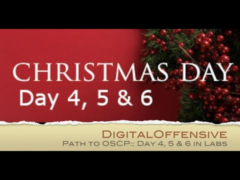 Digital Offensive » Blog Archive » Path to OSCP: Days 4, 5