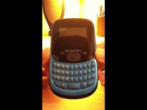 Alcatel OT-355 unboxing