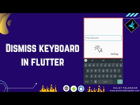 How to dismiss keyboard in flutter - unfocus textfield