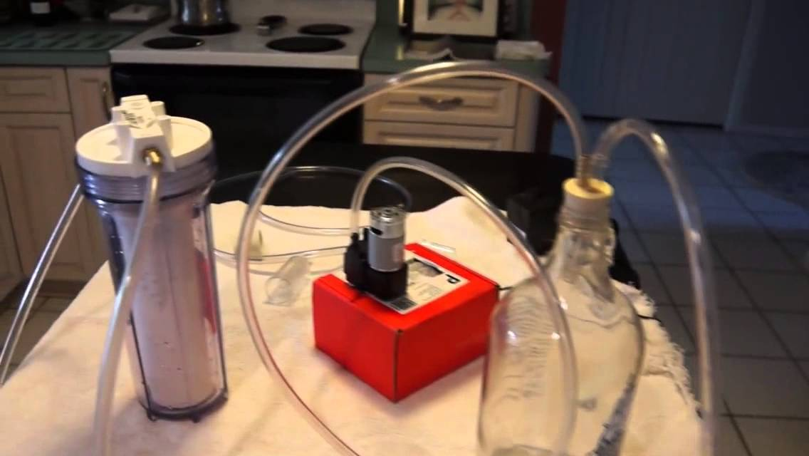 Build A Homemade Wine Filter In Your Kitchen Youtube