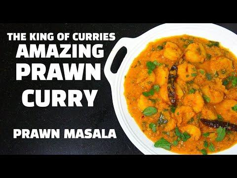 Prawn Curry - Prawn Masala - How to make Easy Prawn Curry - Best Shrimp Curry