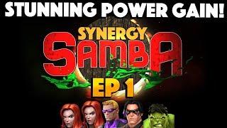 SYNERGY SAMBA Ep 1: Stunning Power Gain!