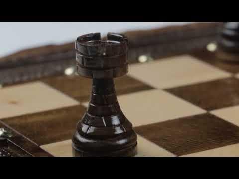 Резные шахматы и нарды 'Арарат'  от мастера  Оганяна