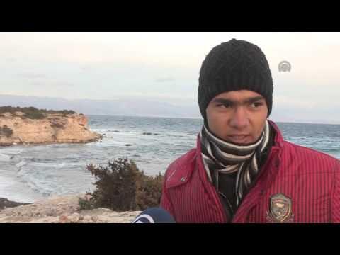 Refugees waiting in Turkey's Izmir