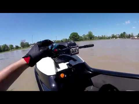 2017 sxr 1500 - buoy ride with mods - youtube