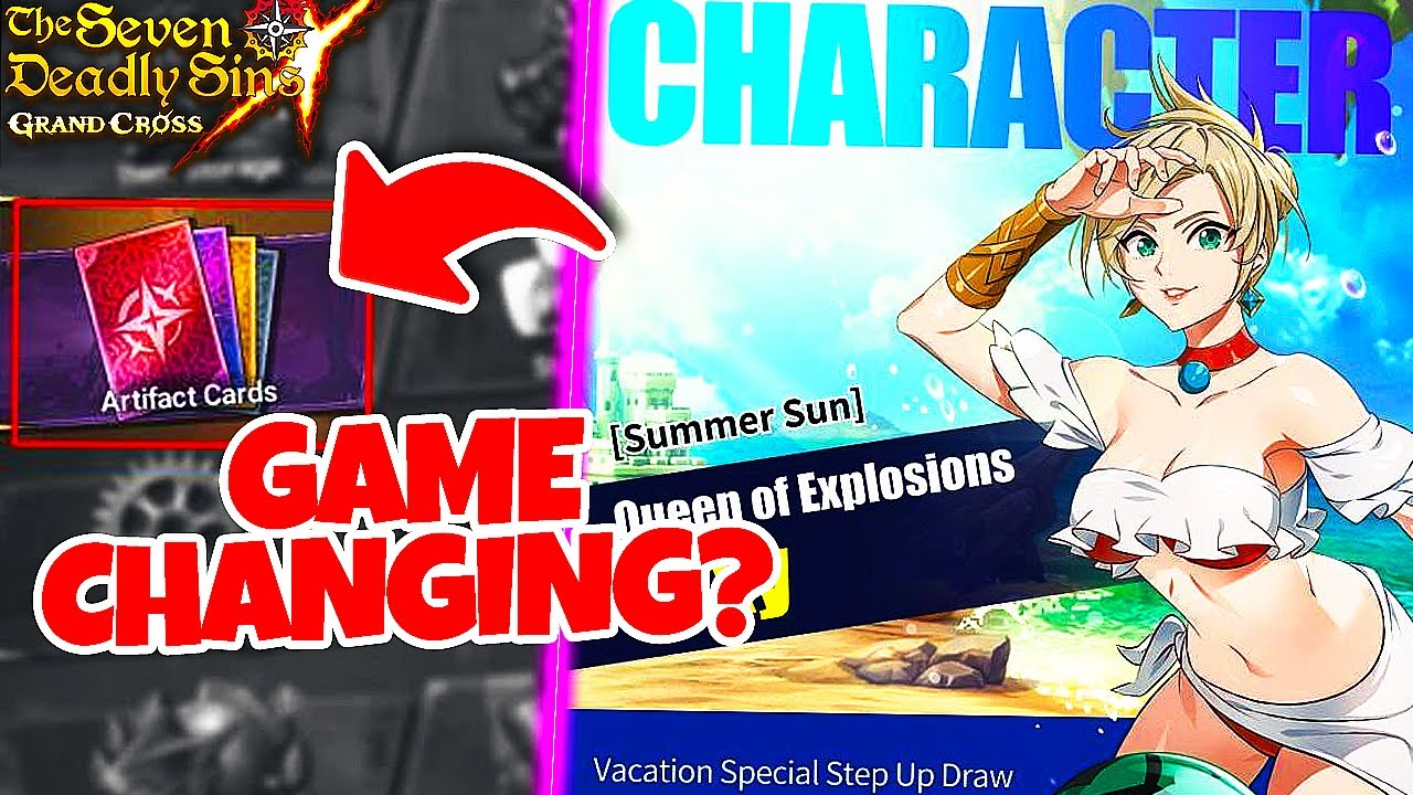 ARTIFACT CARD SYSTEM COMING TO GLOBAL!! AND SUMMER ROXY! | 7DS: Grand Cross