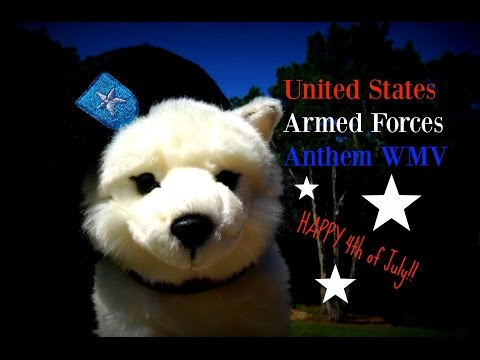 United States Armed Forces Anthem Webkinz Music Video
