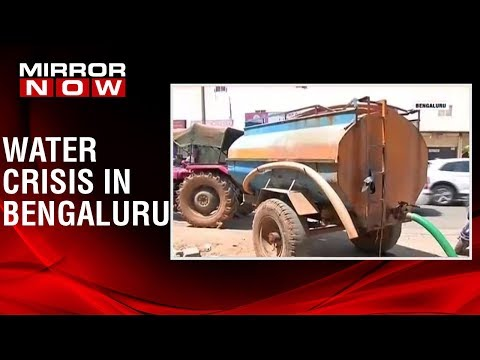 Bengaluru stares at massive water crisis, residents depend on water tankers