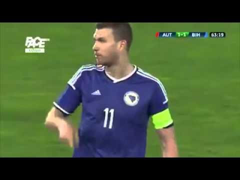 KAPITEN Edin Džeko i Muhamed Bešić vs Aleksandar Dragović