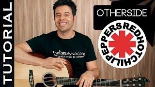 Como tocar OTHERSIDE en guitarra acústica con SOLO ! tutorial red hot