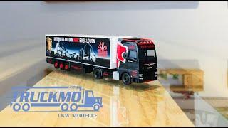 Trio Trans MAN TGX XXL Euro 6c Kühlkoffer Sattelzug 311007 Herpa