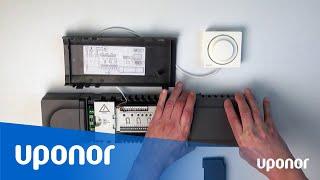 Бази компанії Uponor Smatrix Reglercentral х-145 автобуса 6Х очь компанії Uponor Smatrix бази Kopplingsmodul М-140 автобуса 6Х