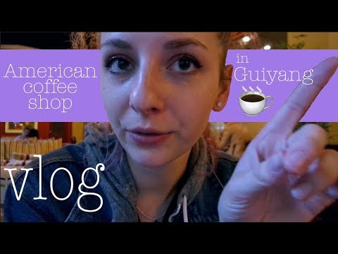 VLOG | American coffee shop in Guiyang