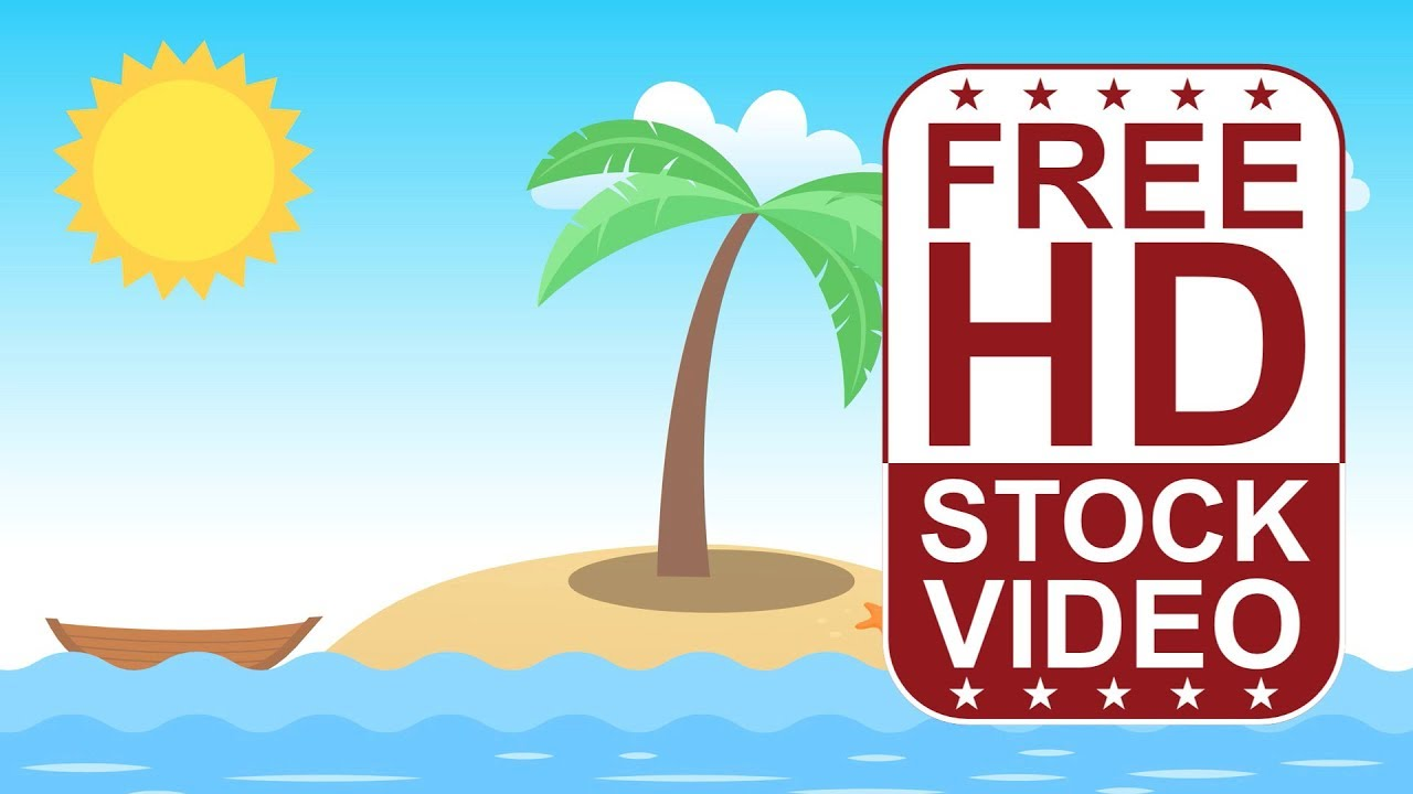 FREE HD video backgrounds – cartoon style scene small ...