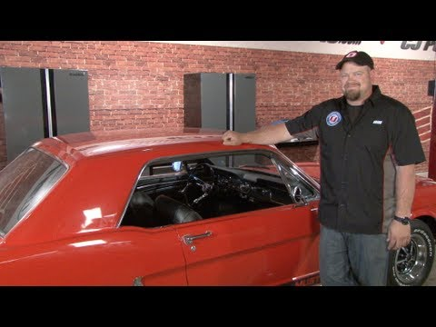 Mustang Horn embly 1964-1966 Installation - YouTube on interior of a 67 galaxie,