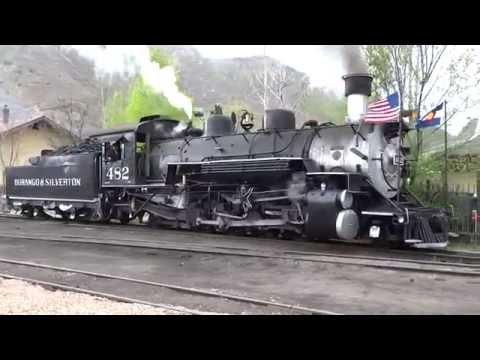 Railfanning Durango & Silverton Narrow Gauge Railroad 2016