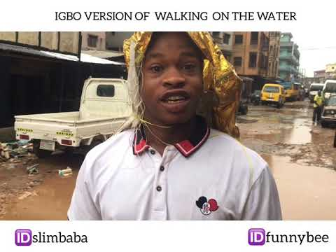 The Onitsha pastor walking on the River Niger . Funnybee comedy