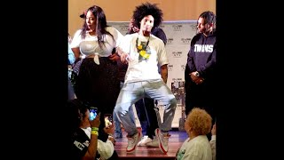 Les Twins NY - Above Water (Laurent and Larry musicality lesson)