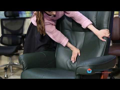 Обзор невероятно комфортного релаксационного кресла Relax Mauris в зеленой коже
