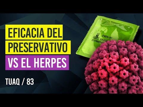 eficacia preservativo herpes
