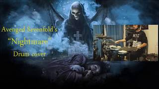 """Download Avenged Sevenfold's """"Nightmare"""" drum cover"""
