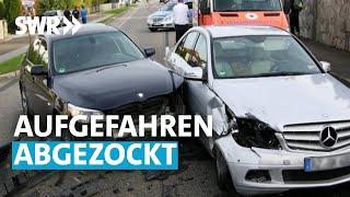 Aufgefahren - abgezockt. Tricks bei Unfällen | SWR betrifft