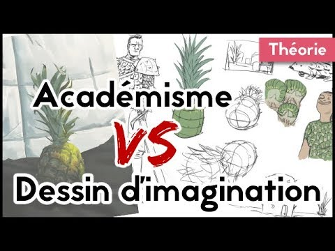 Académisme VS dessin d'imagination