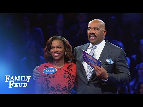 Kandi BurrussTucker Fast Money!  Celebrity Family Feud