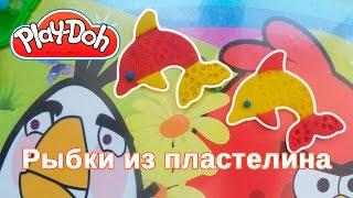 Лепим рыбку из пластелина Плей До. Play doh - LittleEinsteinsMult